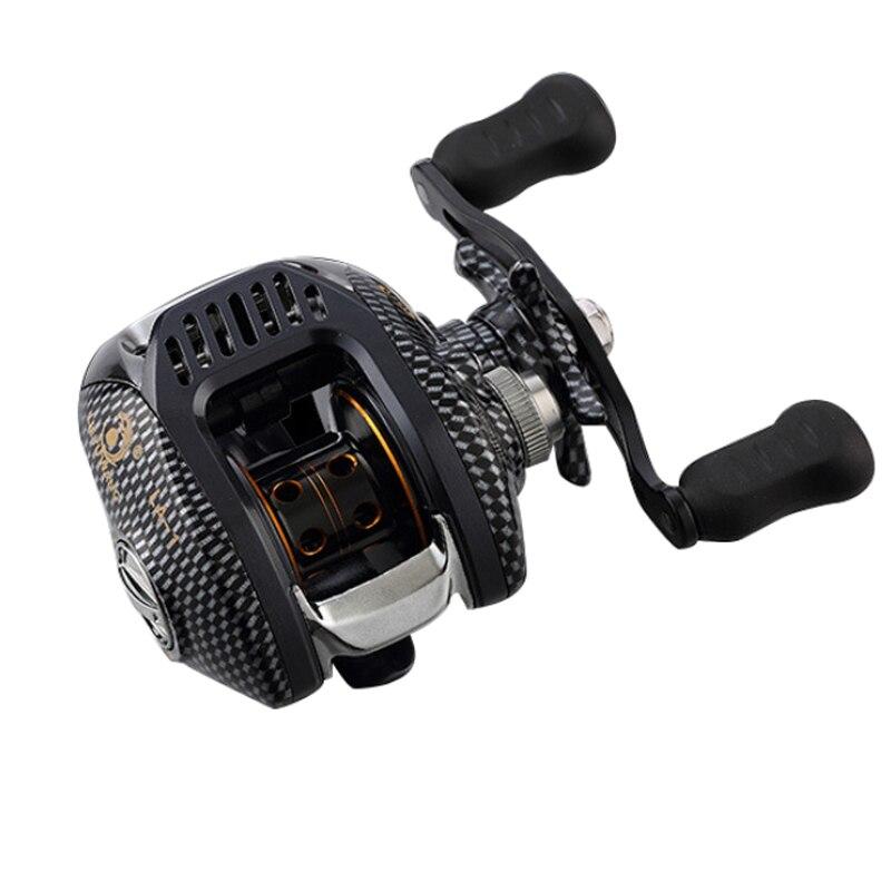 6.3:1 13BB Right or Left Baitcasting Fishing Reel Centrifugal Dual Brake Bait casting Reels Carretilha de pesca vara molinete цена