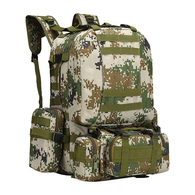 55L sac d'alpinisme haute capacité voyage combiné multifonctionnel TAD assaut sac à dos étanche 3 P armée sac à dos