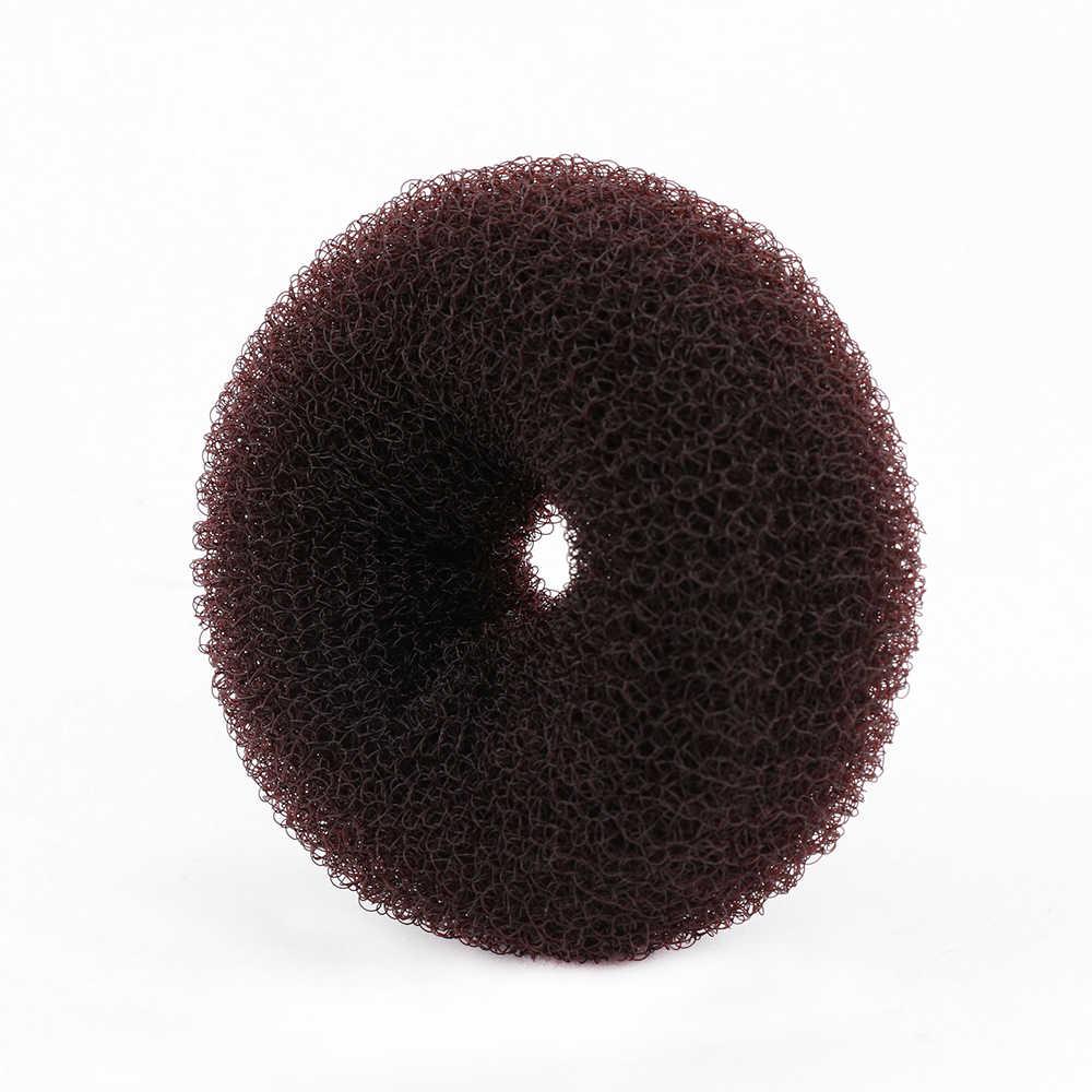 Moda Feminina Magia Shaper Donut Cabelo Anel Bun cabelo Acessórios Tamanho S/M/L Lady Hair Styling Ferramenta Cabelo acessório Bege/Café/Preto
