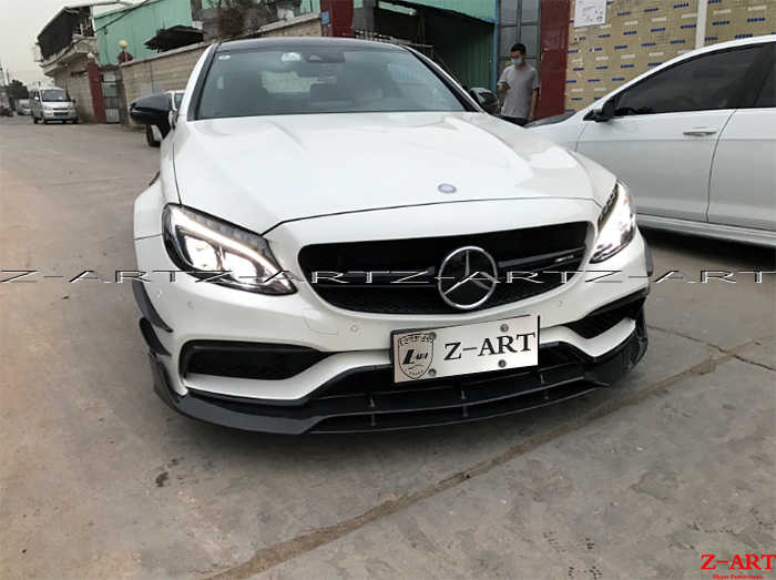 Z ART reaL carbon fiber tuning parts for AMG C63 Coupe 2015