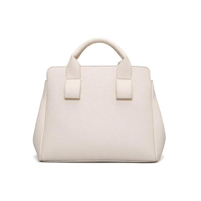 2016 famous Brand Designer fashion Women handbag PU Leather lichee pattern Shoulder Bag Print Rose Composite Bag Purse 2 pcs/set