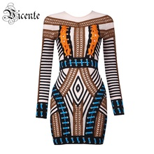 Free Shipping! 2017 New Gorgeous Luxe Cross Criss Lace Up Geometric Pattern Mesh Patchwork Wholesale Women Celebrity Party Dress