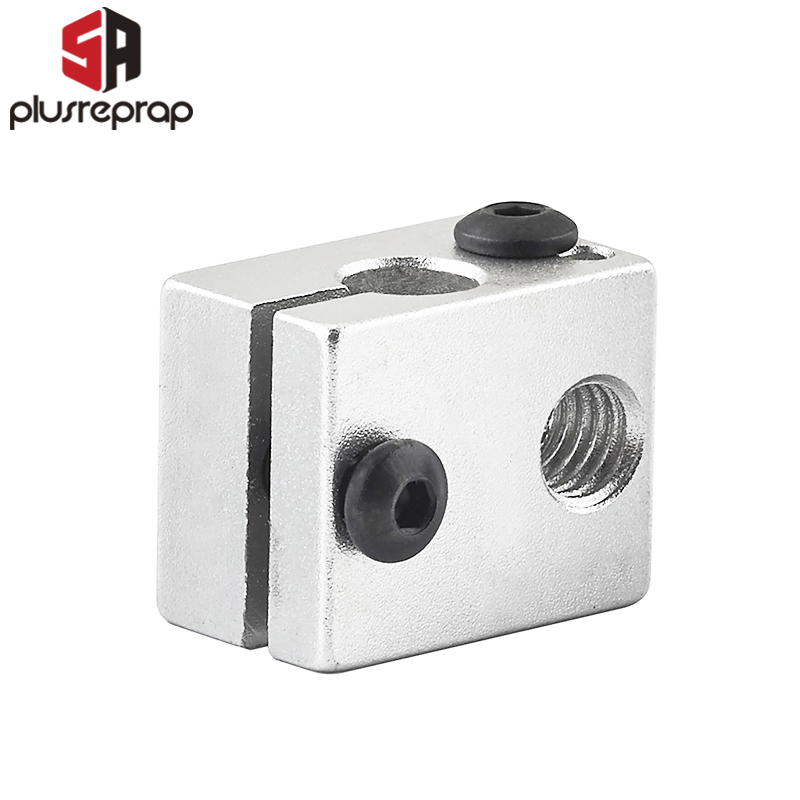 1PC V6 Aluminium Heat Block for V6 J-head Hotend Size 20*16*12mm 3D Printer RepRap