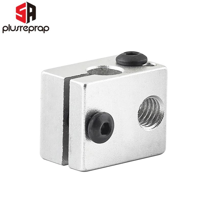 1PC V6 Aluminium Heat Block For V6 J-head Hotend  Size 20*16*12mm 3D Printer RepRap