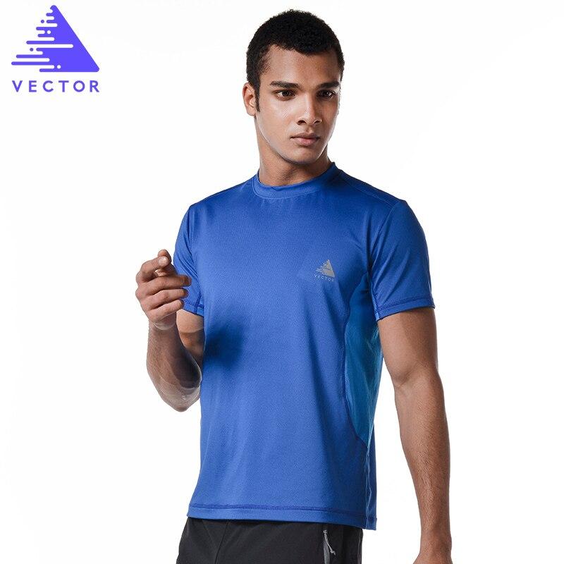 VECTOR Women Men Sport T shirt Short Sleeve Breathable Quick Dry Outdoor T-Shirt Coolmax Running Climbing Hiking TXD10025