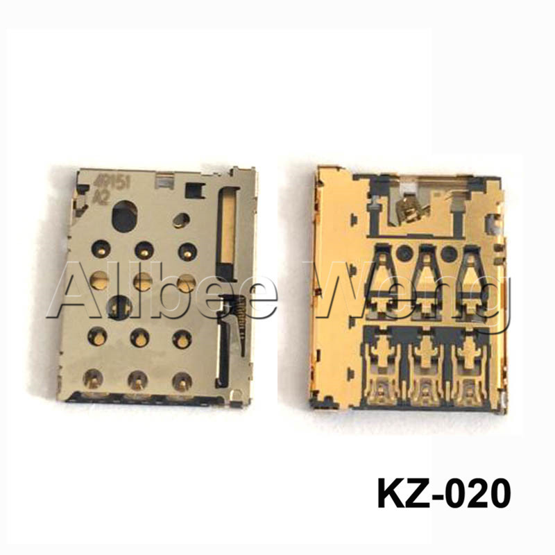 For Motorola Photon Q 4G LTE XT897 Nano SIM Card Slot Tray Holder Socket Reader Module Repair Part