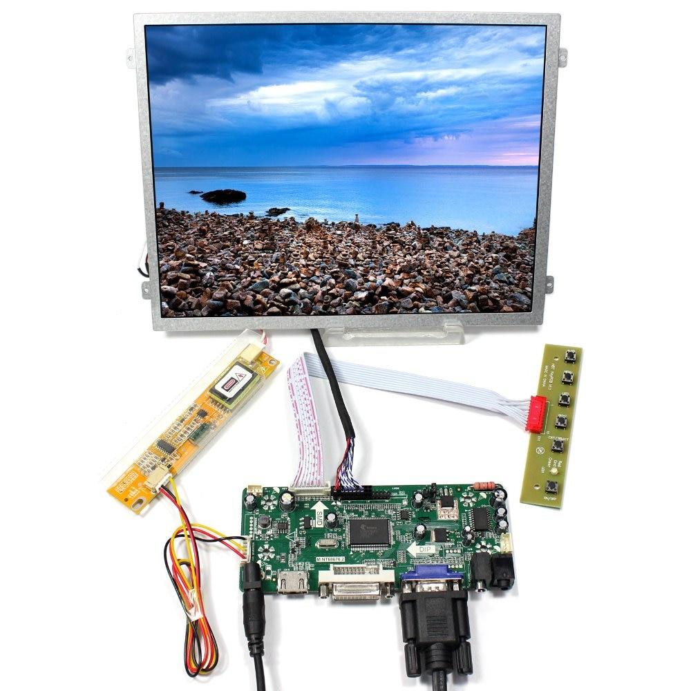 HDMI DVI VGA Audio lcd driver board+10.4inch CLAA104XA01CW 1024x768 LCD Screen hdmi dvi vga control board 8 9inch n089l6 1024 600 lcd panel touch screen n089l6 l02 hsd089ifw1 b089aw01 v3 ltn089nt01