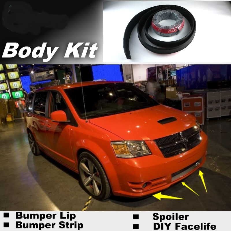 2014 Ram C V Tradesman Camshaft: NOVOVISU Bumper Lip Deflector Lips For Dodge Caravan Ram C