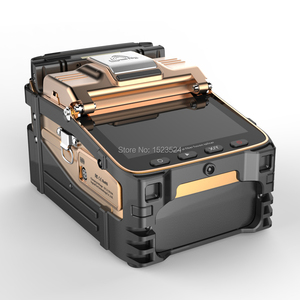 Image 2 - AI 8C SM & مم التلقائي FTTH الألياف البصرية الربط آلة انصهار الألياف البصرية جهاز الربط