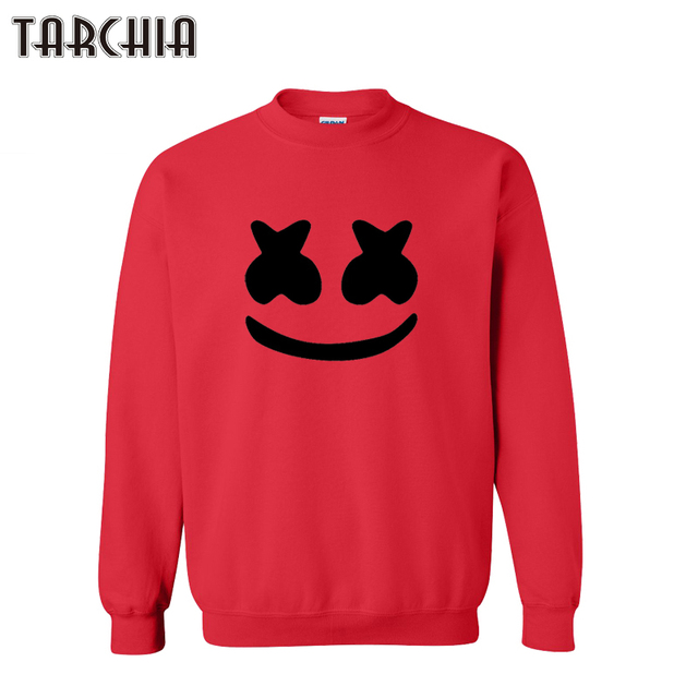 TARCHIA 2016 new fashion marshmello face pullover hoodies sweatshirt personalized coat casual parental survetement homme boy