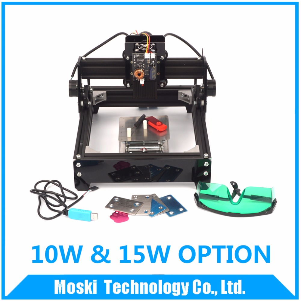 AS-5 laser options,15W laser/10W laser,metal engraving, 15000MW diy laser marking machine, wood router USB connection high quality southern laser cast line instrument marking device 4lines ml313 the laser level