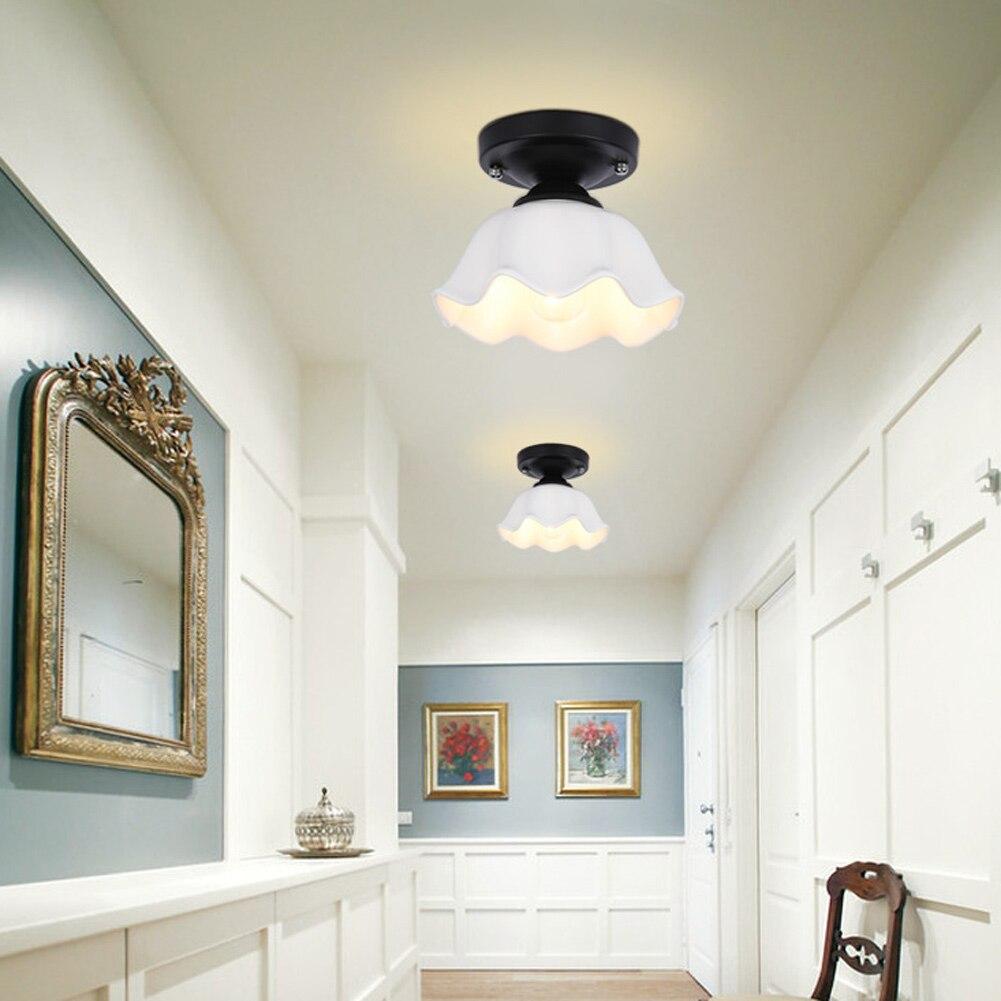 Bedroom ceiling lamps - Ac110v 240v Modern Bedroom Ceiling Lamps Children Kid S Study Room Colorful Flowers Wooden
