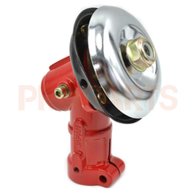 Aftermarket 26mm 9 Teeth Spline Red Color Gearbox Trimmer Head For Most Brush Cutter