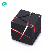 Qone7 Portable Music Box Wireless Bluetooth Column Speakers LED Stereo Sound Subwoofer Loudspeakers For Mobile Phone With MIC