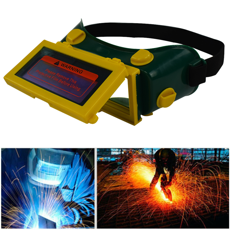 Solar Auto Welding Helmet Electric Soldering Mask Goggles Cap Welder Glasses Eyes Protector Wind Proof Repair Tools Cap(China)