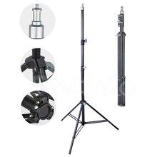 Металлическая оссветильник ная стойка для фотосъемки, 2 м, штатив 1/4 см с винтом 200 дюйма для фотостудии 5 кг, софтбокс со светодиодной вспышкой для видесветильник ъемки, поддержка фона