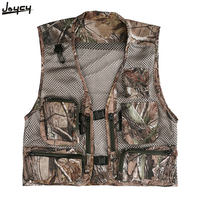 Best Deal M/L/XL/2XL/3XL Camping Fishing Hunting Vests Men's Outdoor Waistcoat Brand Tactical Photography Jacket