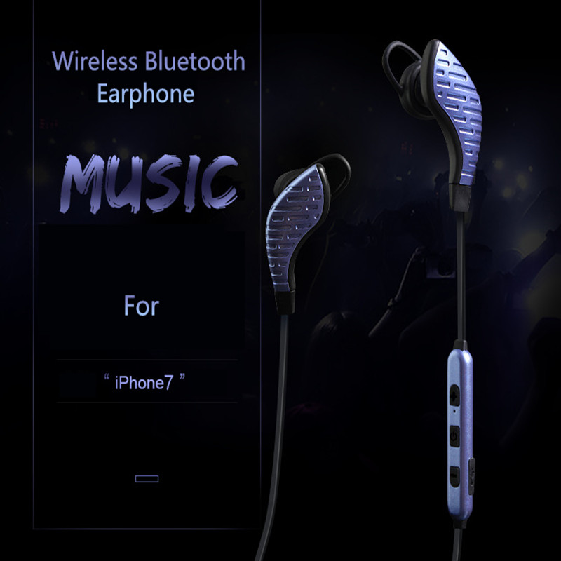 2017 Sport Running Bluetooth 4.1 Headset Wireless Earphone Headphone Bluetooth Earpiece With Mic Stereo Earbuds For all phone