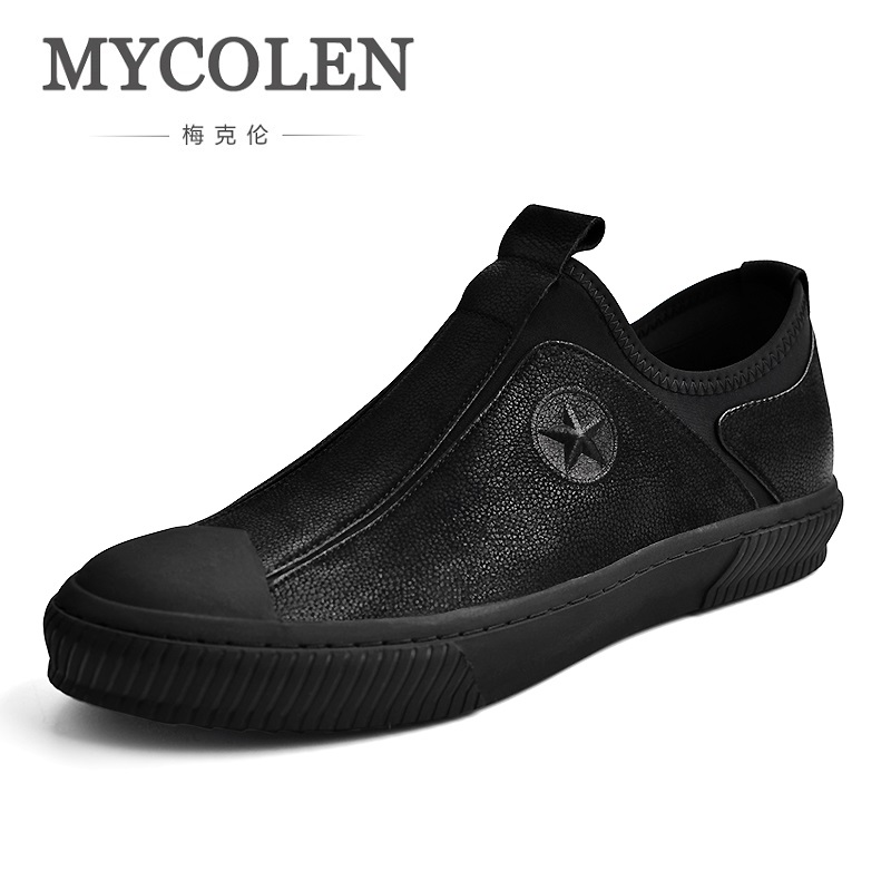 MYCOLEN 2018 Spring/Autumn Mens Casual Shoes Man Flats Breathable Fashion Classic Outdoor Canvas Shoes For Men Sneakers spring autumn casual men s shoes fashion breathable white shoes men flat youth trendy sneakers