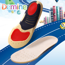 Demine Orthopedic Insoles Children Flat Foot Arch Support Orthotic Pads Correction Breathable Cushion Inserts for Kids