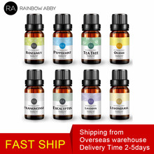 купить 10ml x 8pcs/Lot Essential Oils 100% Pure Natural Aromatherapy Massage Essential Oil Skin Care Lift Skin Plant Fragrance Oil по цене 1013.04 рублей