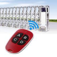 remote key 4 keys Garage Door Gate Key Fob 433 Mhz Duplicator Copy CAME Remote Control Door key wireless remote control (3)