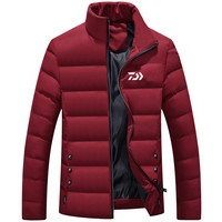 New 5 Colors Daiwa Winter Fishing Clothing Outdoor Sports Men Warm Fishing Jacket Coat Hiking Fly Fishing Clothes Sweather