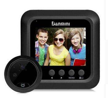 2,4-дюймовый 2MP широкоугольный глазок для видеодомофона