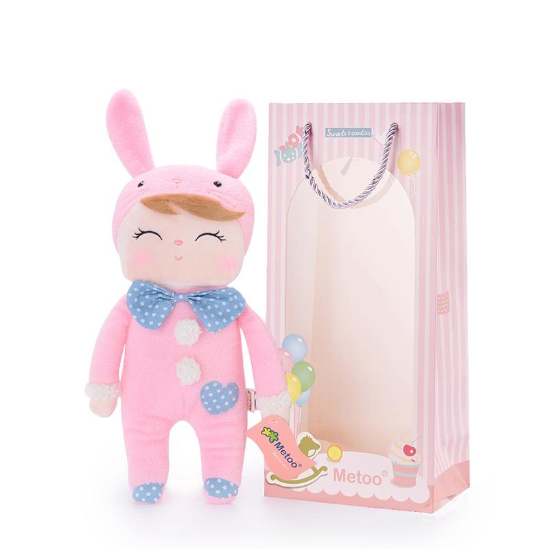 METOO Angela Dolls Free Package Dreaming Girl Pink Plush Stuffed - Պլյուշ խաղալիքներ