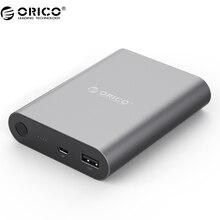 ORICO Q1 USB Портативный внешний Батарея, 10400 мАч Мощность банк Быстрый Зарядное устройство QC 2.0 для электрических устройств (Q1-BK)