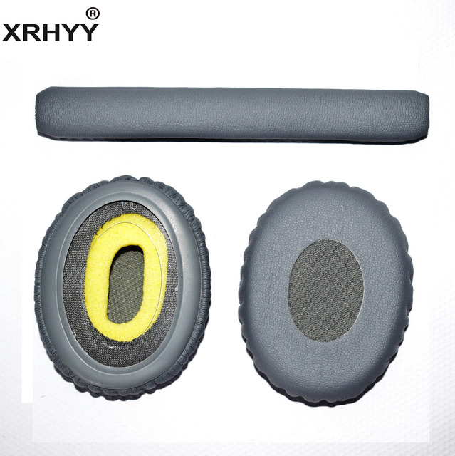 Us 6 29 10 Off Xrhyy Grey Replacement Headband Earpads Cushion Set For Bose On Ear Oe2 Oe2i Soundtrue Headphones In Earphone Accessories From