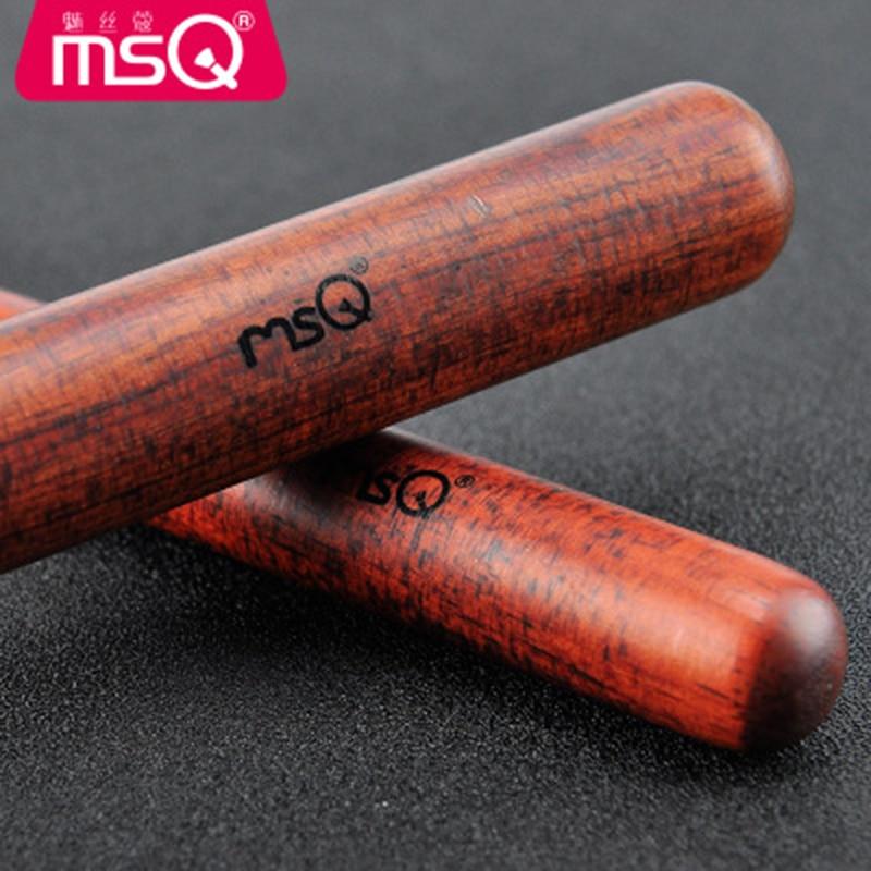 MSQ Высокое качество набор кистей для макияжа черные женские косметика по уходу за бровями Румяна для лица кисть порошок для губ Тени для век ... - 3