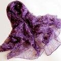 2016 новинка женщин Большой размер шелковицы шарф отпечатано 180 * 105 см китай стиль темно-розовый шелковый шарф мыс на осень зима