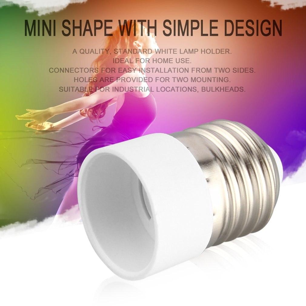 5pcs E14 auf E27 Lampenfassung Lampen Sockel Adapter Stecker Glühbirne Konverter