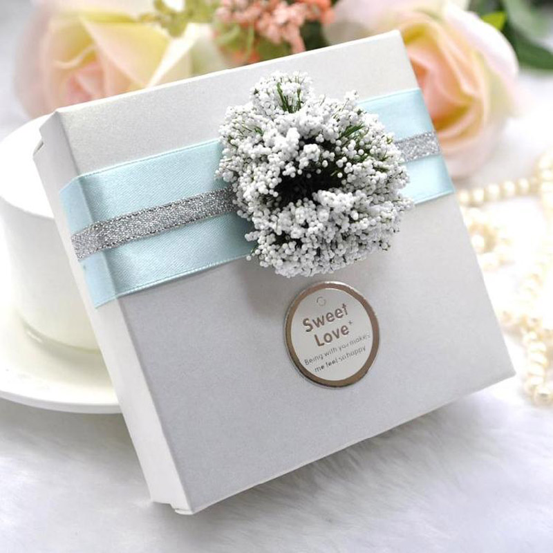 Candy Boxes Happy and Sweet Wedding Favors Chocolate Sweet Day ...