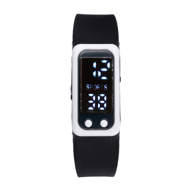 Sport Bracelet Watch Run Step Watches Bracelet Pedometer Calorie Counter Digital
