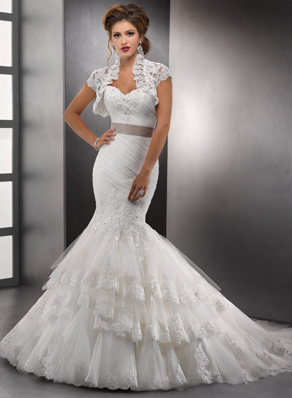 mermaid wedding gowns sweetheart neckline mermaid dress wedding Mermaid Wedding Dress With Sweetheart Neckline