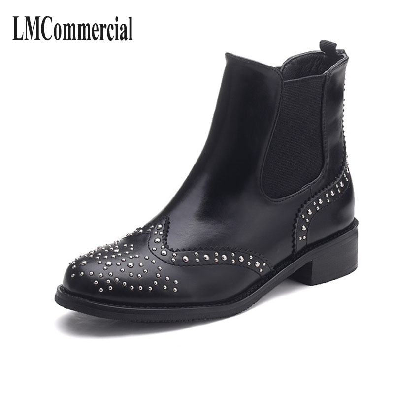 new winter women boots Chelsea girls with zipper flat with Korean fashion Martin single short boots martin new winter with thick british style short canister female fall side zipper boots