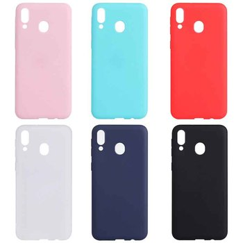 Candy Color Case For Samsung Galaxy A80 A70 A50 A40 A30 A10 Silicon Full Cover For Samsung M30 M20 M10 S8 S9 S10 Plus Cases image