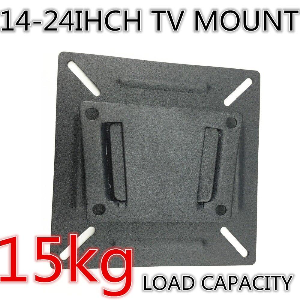 24 Tv Monitor Flat Screen Plasma Vesa Lcd Led Wall Mount Bracket Panel