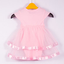 Soft Baby Girl's Lace Cotton Dresses