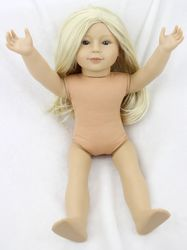 Pursue 18 high quality plastic american girl naked doll realistic american girl doll naked lifelike baby.jpg 250x250