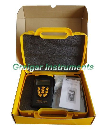 Smart sensor Ultrasonic Range Finder AR841 Laser Distance Rangefinder Meter Measurer tool