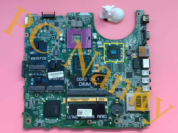 H281K 0H281K Cn-0H281K Genuine For DELL Studio 1535 Laptop Motherboard S478 DDR2 PM965 with ati Graphics