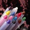 2016 New Crystal Bright Eye Shadow Pencil Gold Black Rose Red White Eyeshadow Stick Eye Liner Pencil Lip Stick Eye Shadow Pen