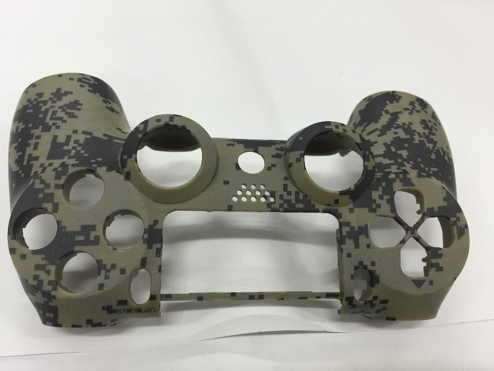 PS4 Replacement Camo Shell Camouflage Housing Case Cover Skin Front Back Protector for Playstation 4 DualShock 4 V1 Controller in Cases from Consumer Electronics