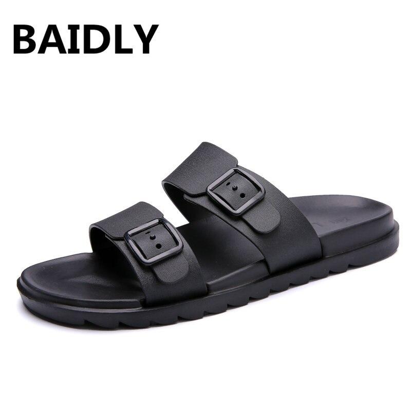 Baidly Günstige Sommer Männer Hausschuhe Badezimmer Hausschuhe Männer Casual Pvc Eva Schuhe Mode Sommer Strand Slide Schuhe Zapatos Hombre