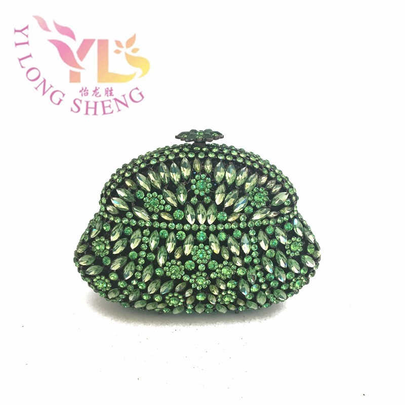 Diamonds Women Clutch Bags Amazing Crystal Evening Clutches Five Colors Available YLS-G23 diamonds