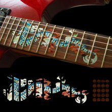 Fretboard Markers Inlay Sticker Decals for Guitar – Dragon