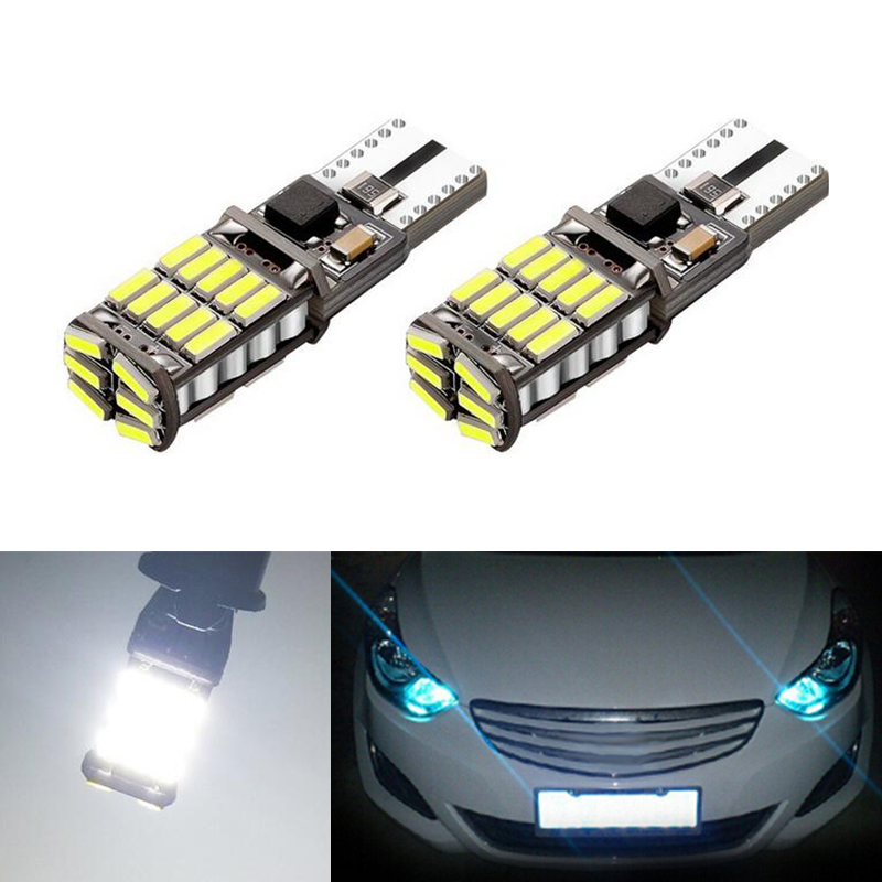 2x T10 194 W5W Canbus Car Clearance Light No Error For Hyundai solaris accent i30 ix35 i20 elantra santa fe tucson getz in Car Light Assembly from Automobiles Motorcycles